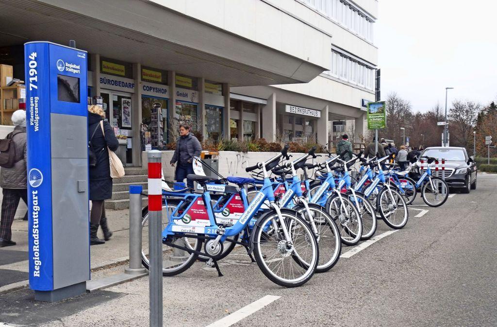 Stuttgart Plieningen Birkach Radstation Konnte Sogar Noch Grosser