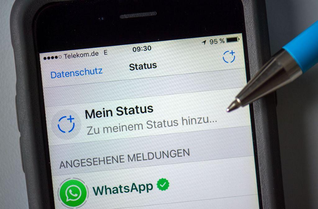 Neue Status Funktion Bei Whatsapp Worauf Sie Beim