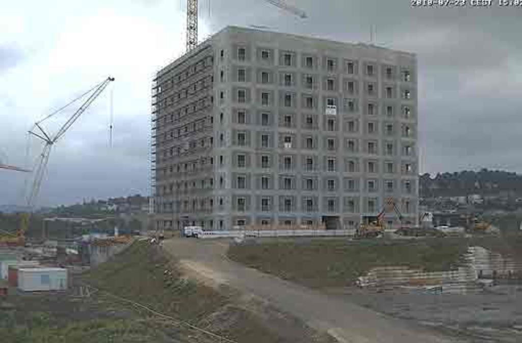 Stuttgart 21 webcam