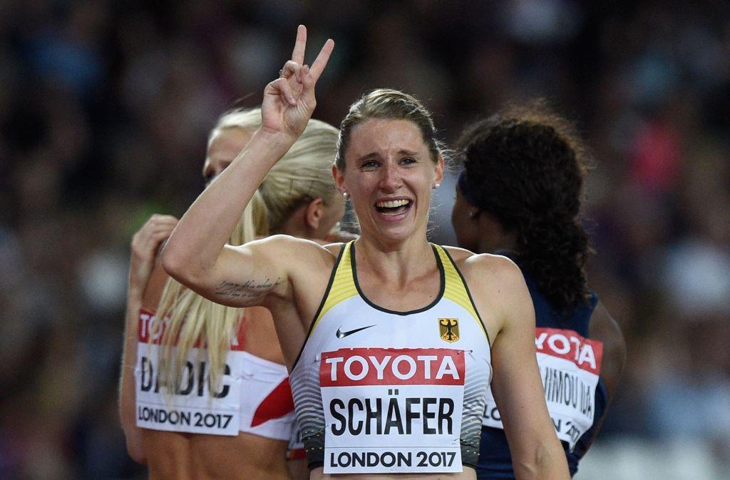 bester Preis großer Verkauf Gutscheincode Leichtathletik-WM in London: Schäfer holt Silber im ...
