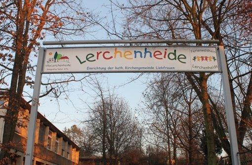 Seit zehn Jahren wird das Waldheim Lerchenheide in Bad Cannstatt auch als Kindertagesstätte genutzt. Foto: Maira Schmidt