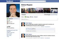 Der Facebook-Auftritt von Ministerpräsident Stefan Mappus (CDU). Auch sein ...p Screenshot: SIR