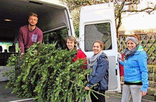 Sammelaktion in Degerloch fürs SOS-Kinderdorf Foto: Claudia Barner