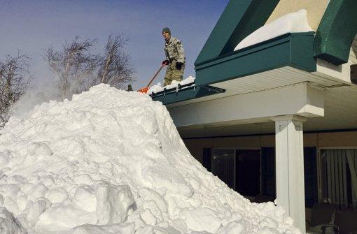 Winter hat US-Norden fest im Griff