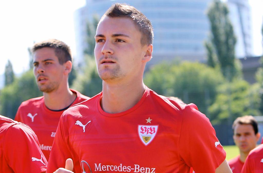 Fussballspieler Patrick Bauer Fruherer Vfb Jugend Spieler