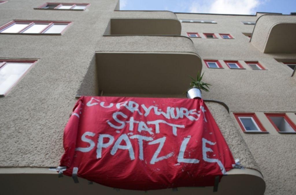 Schwabendebatte: Gässle und Sträßle im Prenzlauer Berg   Panorama