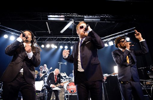 Seeed standen am Donnerstagabend im Zapata auf der Bühne. Foto: Schönebaum
