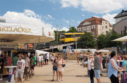 Das 5. Maifest auf dem Marienplatz