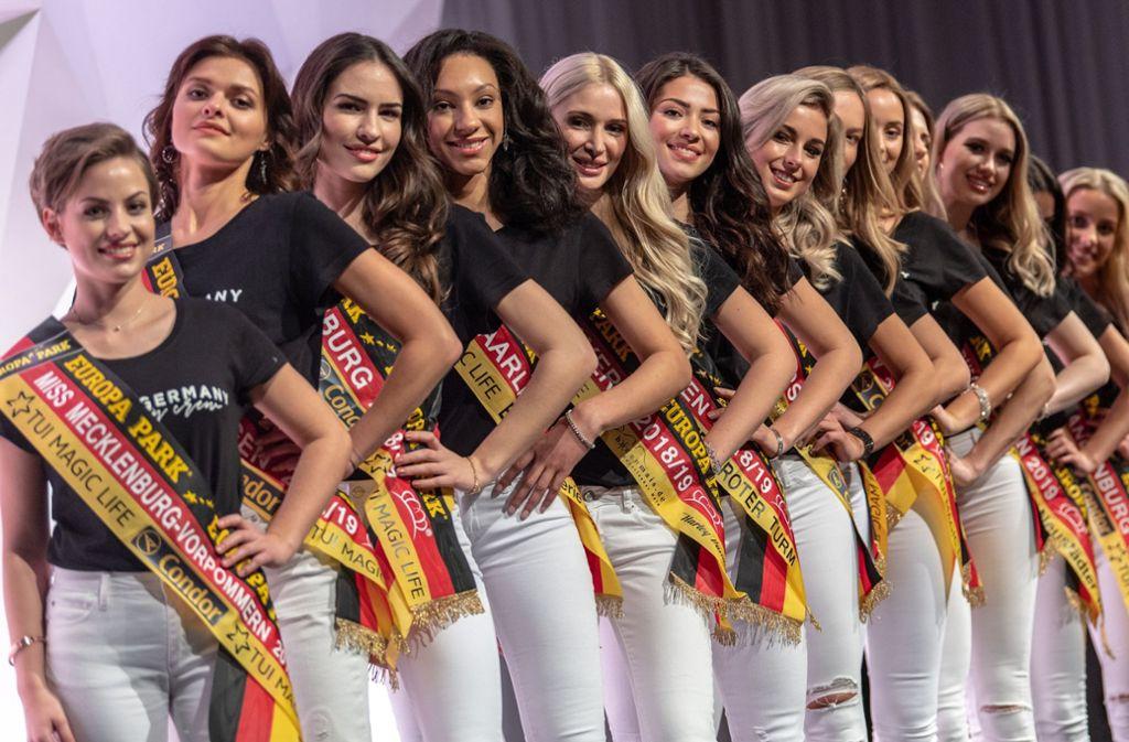 Wahl zur Miss Germany 2019: Das sind die Kandidatinnen ...