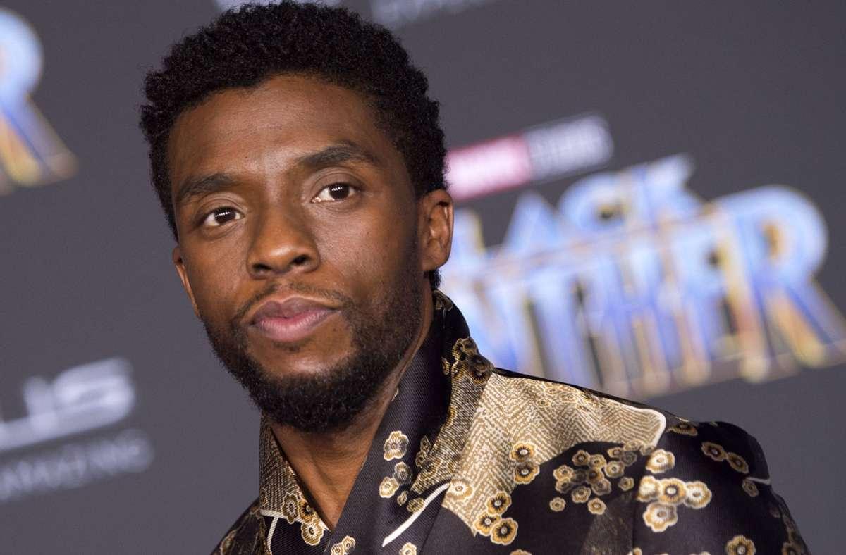 Trauer In Hollywood Black Panther Star Chadwick Boseman Gestorben Kultur Stuttgarter Zeitung