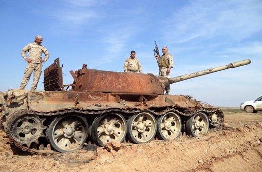 Iraks Armee beginnt Tikrit-Offensive
