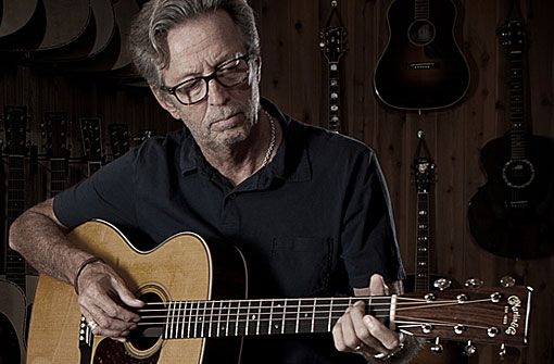 Juni 2020 in der Schleyerhalle: Eric Clapton