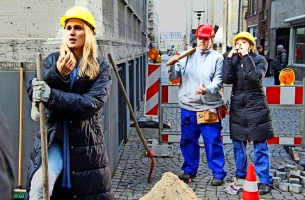 Comedy In Der Ard Pfeifende Bauarbeiterinnen Im Einsatz Kultur