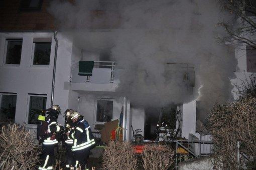 Wohnung vom Feuer komplett zerstört