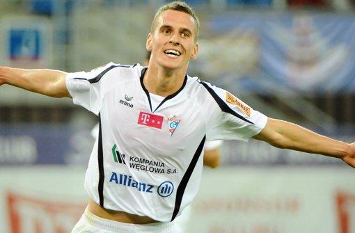 Arkadiusz Milik steht auf der Wunschliste des VfB-Managers Fredi Bobic. Den Kader des VfB Stuttgart sehen Sie in unserer Fotostrecke. Foto: dapd