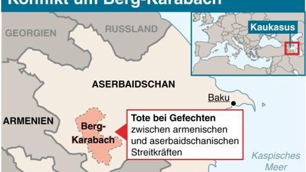 Armenien Aserbaidschan Neue Kampfe Um Berg Karabach Politik Stuttgarter Zeitung