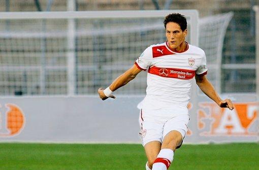 Benedikt Röcker rückt zu den VfB-Profis auf. Foto: Baumann