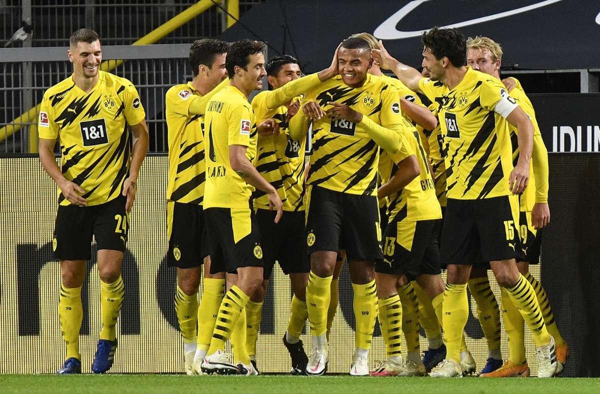 Fußball-Bundesliga: BVB betreibt Wiedergutmachung: 3:0 im Derby über Schalke