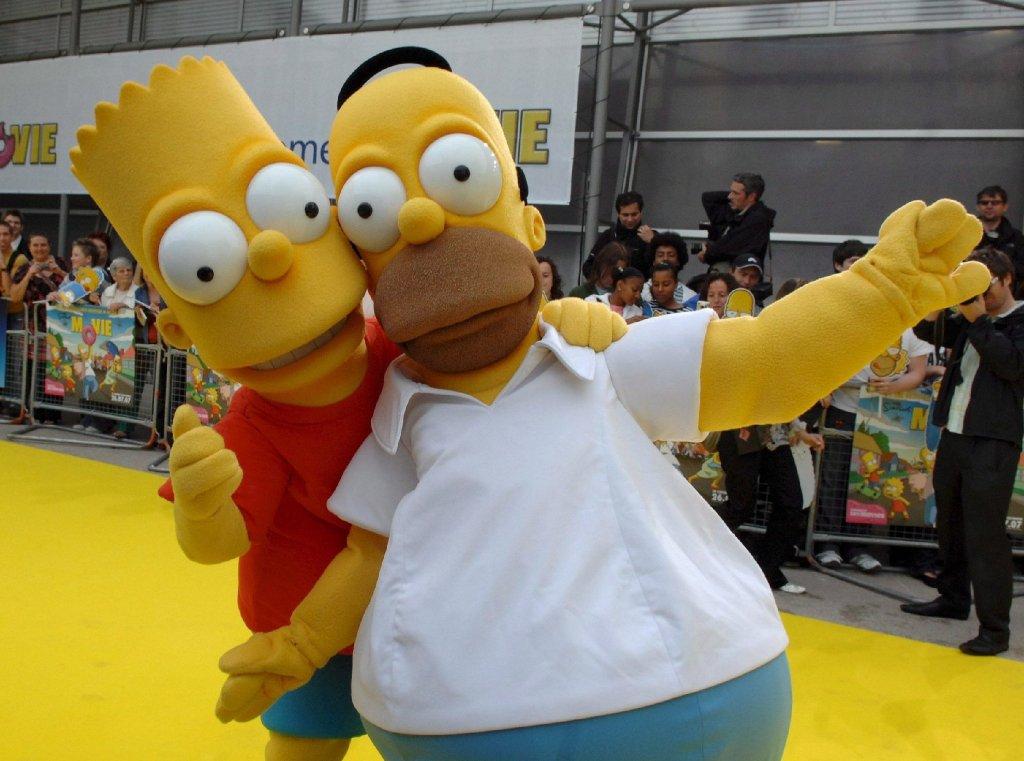 Kultserie Simpsons So Klingt Homers Neue Stimme Stuttgart