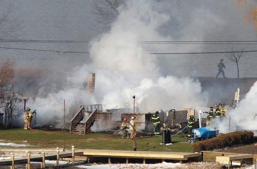 In Webster hat ein 62-jähriger Mann am Montag zunächst sein Haus angezündet und dann zwei der herbeigeeilten Feuerwehrleute erschossen. Foto: Democrat & Chronicle