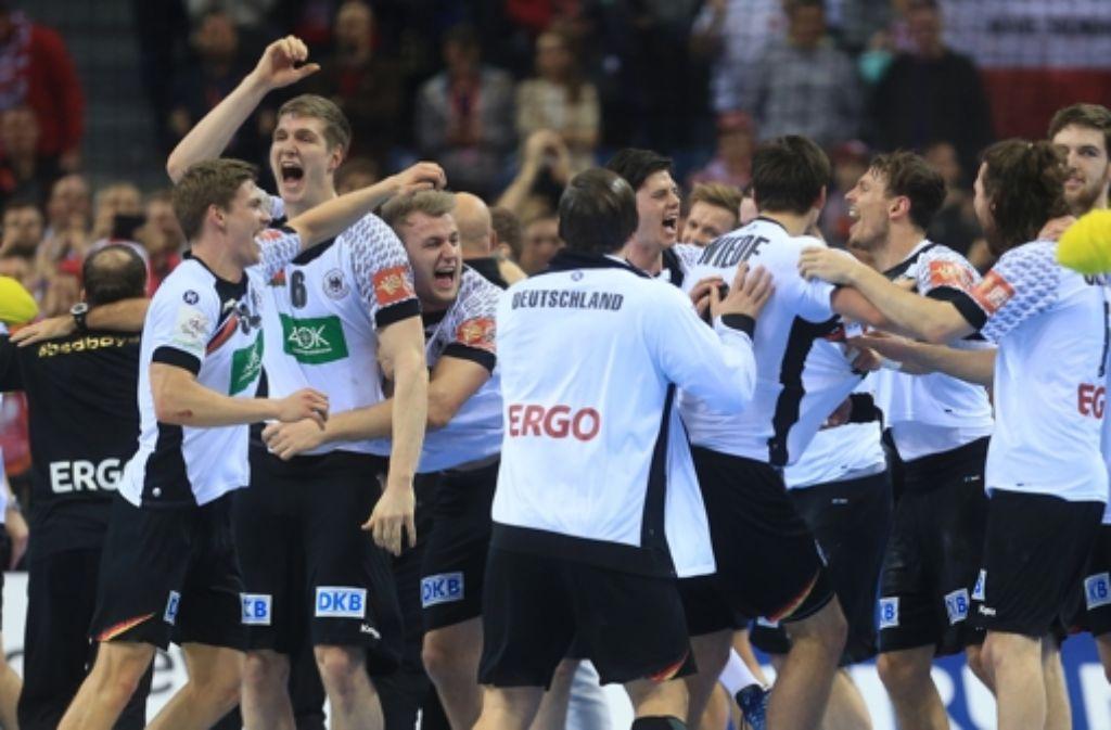 Deutschland Polen Handball