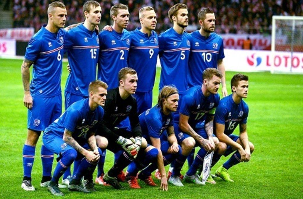 Fussball Em 2016 Island Aussergewohnliche Premiere Fussball