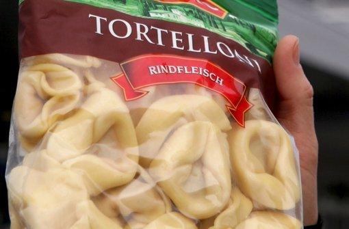 """""""Tortelloni Rindfleisch"""" stammt nicht aus Stuttgart. Foto: dpa"""