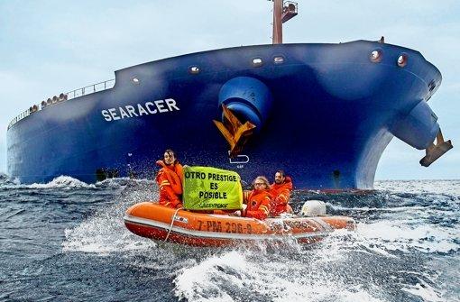 Greenpeace ist sich nicht mehr so grün