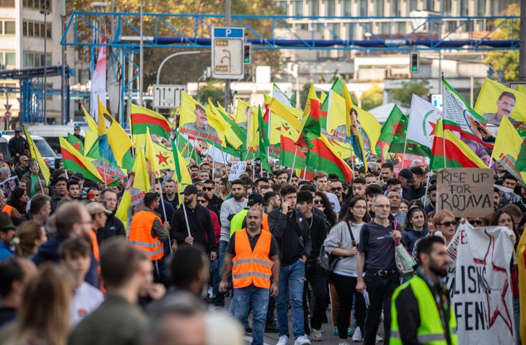 Demo Stuttgart Heute Türkei