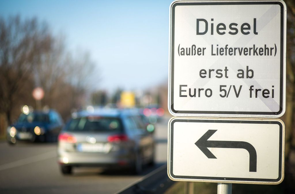 Dieselfahrverbot In Stuttgart Privatmann Kündigt Klage Gegen