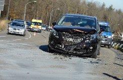 Der Geisterfahrer fuhr aus bislang ungeklärten Gründen in Stuttgart-Degerloch in den Gegenverkehr. Der Sachschaden geht in die Tausende. Foto: www.7aktuell.de/Eyb