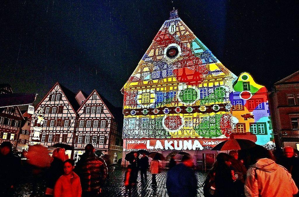 Bei Der Langen Kunstnacht Herrscht In Der Altstadt Buntes Treiben. Foto:  Archiv