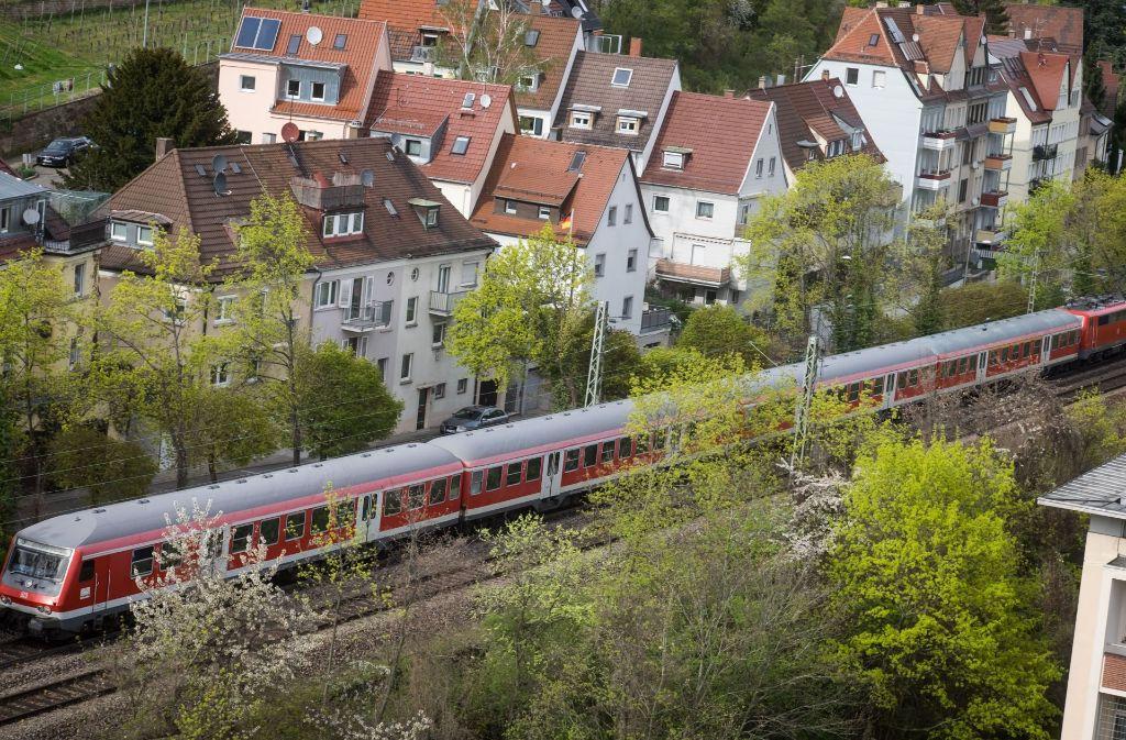 Der Gäubahntrasse in Sutttgart kommt als S-Bahn-Umleitung große Bedeutung zu. Foto: Lichtgut/Achim Zweygarth