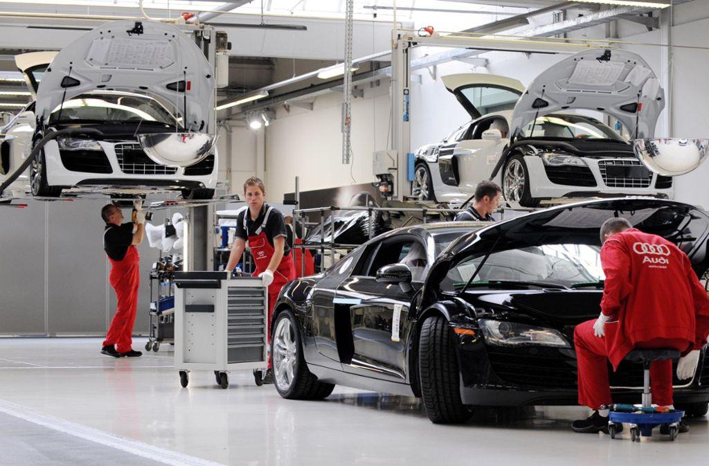 Audi in Neckarsulm - Werk schlecht ausgelastet – Hersteller streicht Nachtschicht - Stuttgarter Zeitung