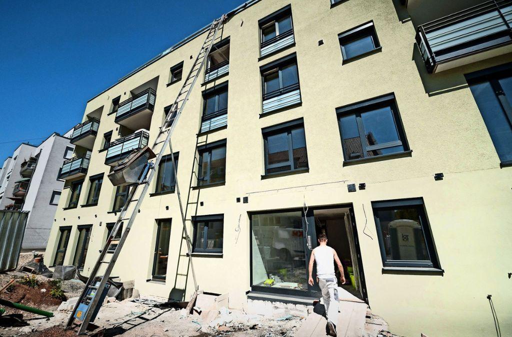 Wohnungsnot Immo Verband Zieht Es Auf Die Grüne Wiese Stuttgart