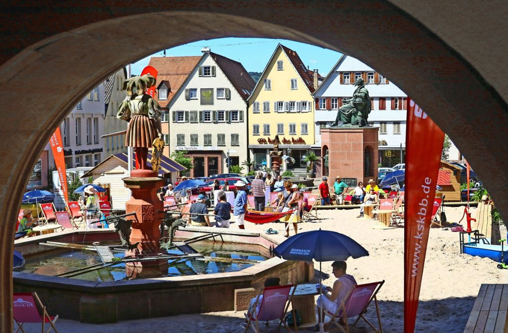 Strandsommer Weil Der Stadt: Im Städtle Ist Summer In The