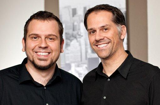 Mark (li.) und Michael Aechtler haben die Plattform Leihdirwas.de gegründet. Michael Aechtler haben wir interviewt. Foto: phamous photography