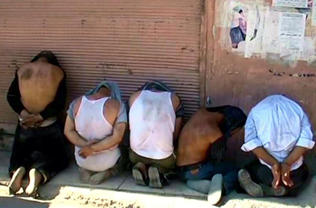 Syrien Gefängnis