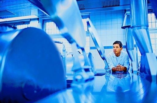 Johannes Guggenberger kocht für eine spezielle Klientel: Er arbeitet im Knast. Foto: Heiss