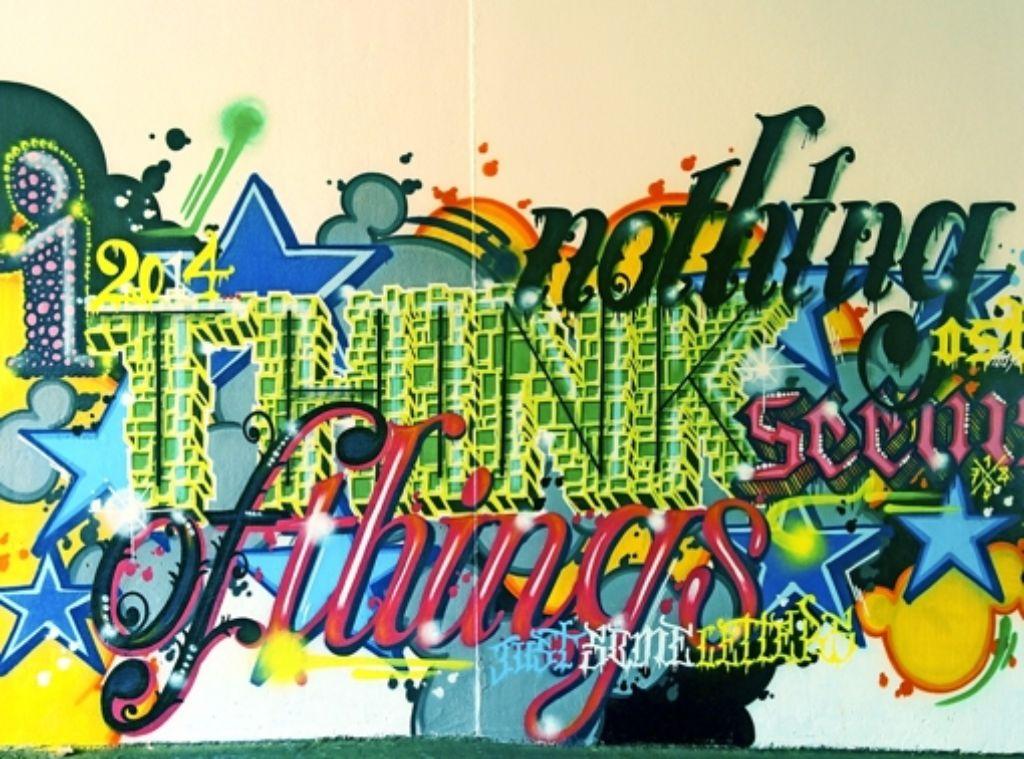 Depot Passage In S Ost Bunte Graffiti F R Dunkle