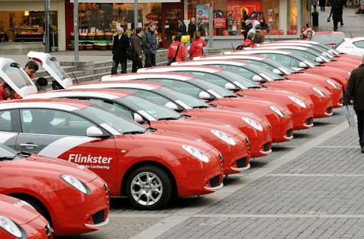 Carsharing boomt - wir vergleichen die Anbieter in Stuttgart. Foto: dpa