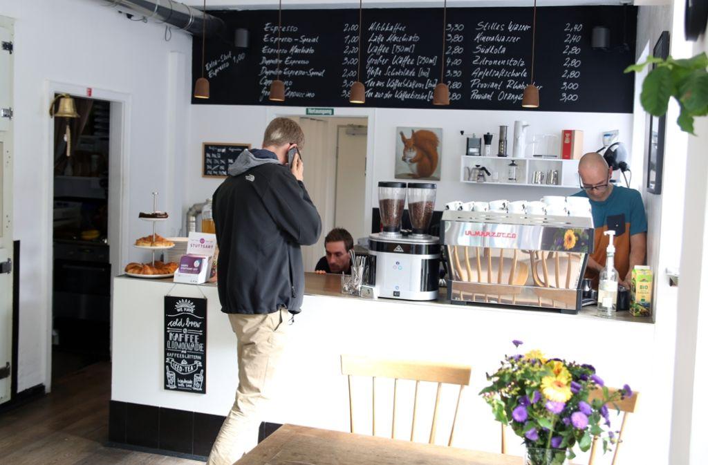 Kaffee Stuttgart West