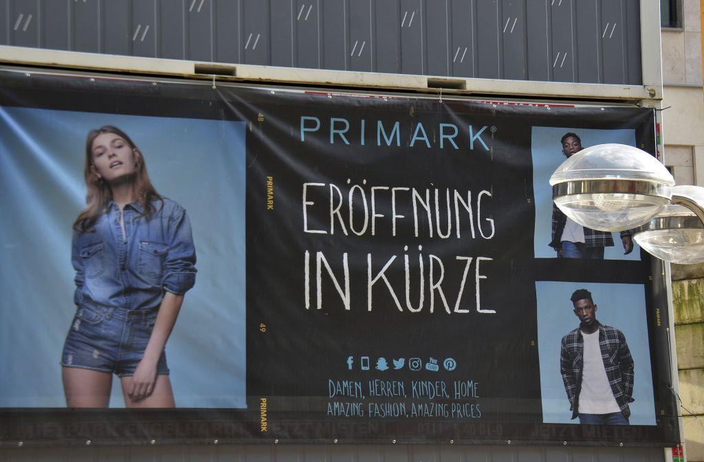 Stuttgart Primark Eröffnung Auf Der Königstraße Rückt Näher