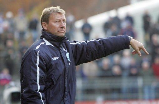 Guido Buchwald bleibt zunächst weiterhin Interimstrainer der Stuttgarter Kickers. Foto: Pressefoto Baumann
