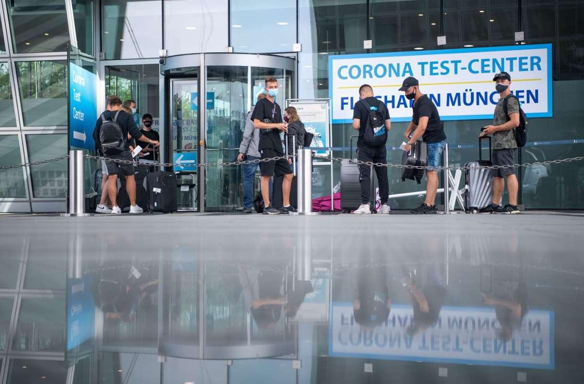 Coronatest Panne in Bayern Das Warten auf genaue Zahlen geht ...