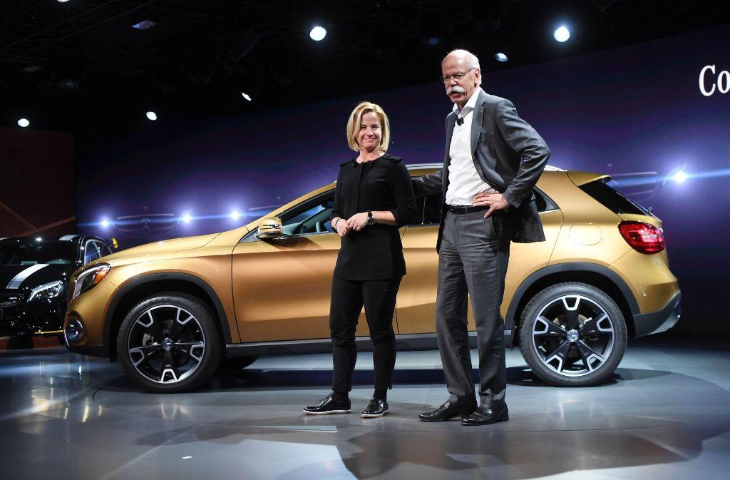 Britta seeger vertriebsvorstand bei mercedes benz cars for Mercedes benz cars com