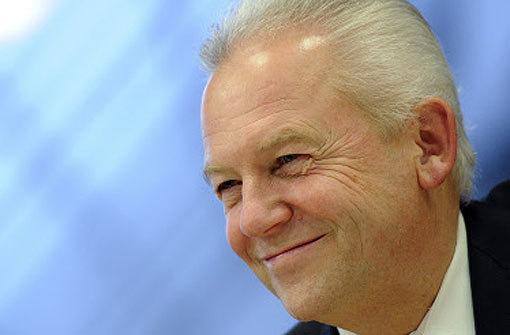 Bahnchef Grube sieht dem Stresstest für Stuttgart 21 zuversichtlich entgegen. Foto: dpa