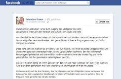 Mehr Zeichen braucht Sebastian Turner für seinen a href=http://www.facebook.com/SebastianTurnerStuttgart/posts/237874586340915 target=_blankFacebook-Post/a, den er schon gut zwei Stunden früher absetzt als Kuhn: Darin wünscht der gescheiterte Kandidat von CDU, FDP und Freien Wählern Kuhn Glück und Kraft und dankt den nahezu 88.000 Wählerinnen und Wählern, die mich heute gewählt haben. Dann wirds persönlich: Turner wendet sich an seine Frau, die ich in der Zeit der Schwangerschaft und unmittelbar nach der Geburt unserer Zwillinge nicht so unterstützen konnte, wie ich es gerne getan hätte. 198 Likes (Stand: 12.01 Uhr) und viele aufmunternde Kommentare (Der ideale Kandidat für Stuttgart wird nicht Bürgermeister. Traurig aber wahr.) sind die Reaktion. Foto: Screenshot SIR
