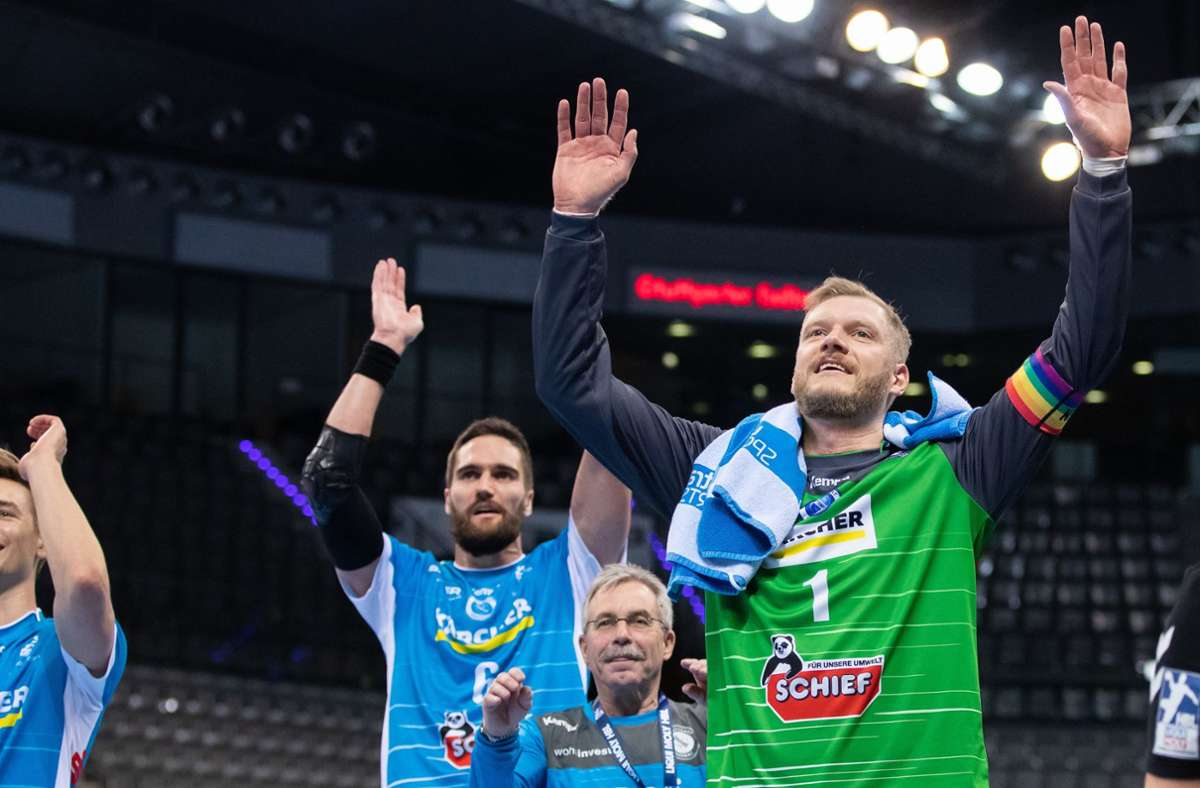 Handball-Bundesliga: Löwen führen Tabelle an – Comeback von Johannes Bitter