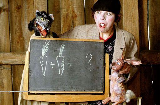 Theater in der Badewanne: Vom Wolf und dem mutigen Hasen